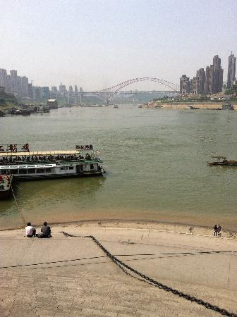 Chongqing Chaotianmen: 两江交汇