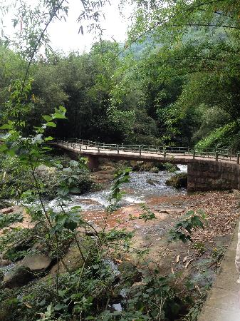 Sidonggou Scenic Resort: 沿路景
