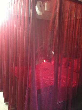 LIjiang Mengli Nianhua Inn : 漂亮的帘子