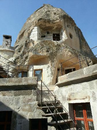 Kelebek Special Cave Hotel: 客房外观