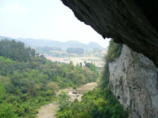 Tongzi County, China: he shui tai zang