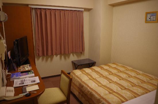 Hotel Route Inn Abashiri Ekimae : 单人间