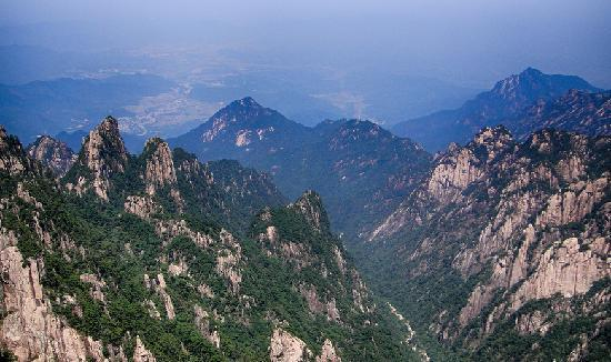 Mt. Huangshan (Yellow Mountain): 黄山