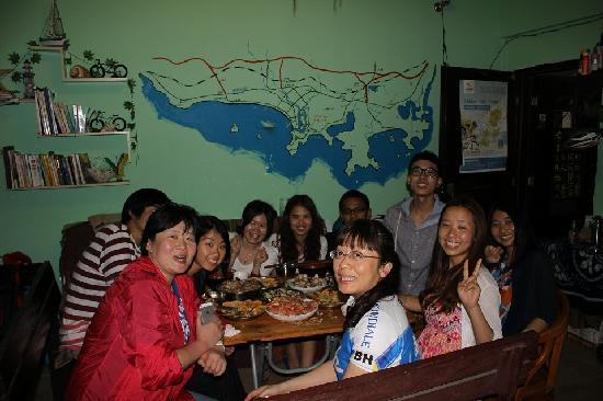 Xingzhe Hostel: 私厨大餐