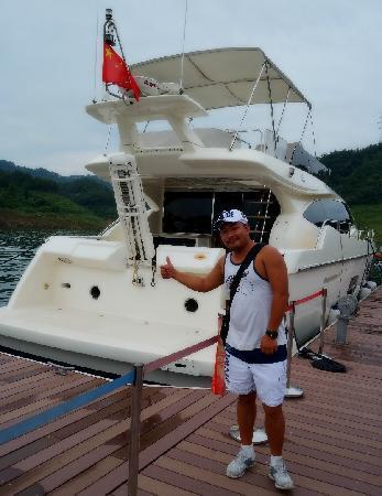Shiyan, China: 太极湖很高端
