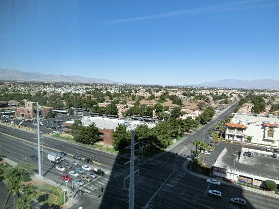 The Palms Casino Hotel : 窗外的风景