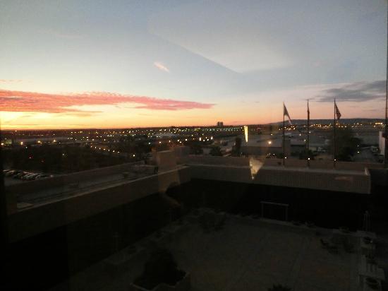 Hilton Los Angeles Airport: 窗外i风景