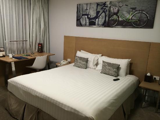 Fraser Place Melbourne: 舒适的大床间