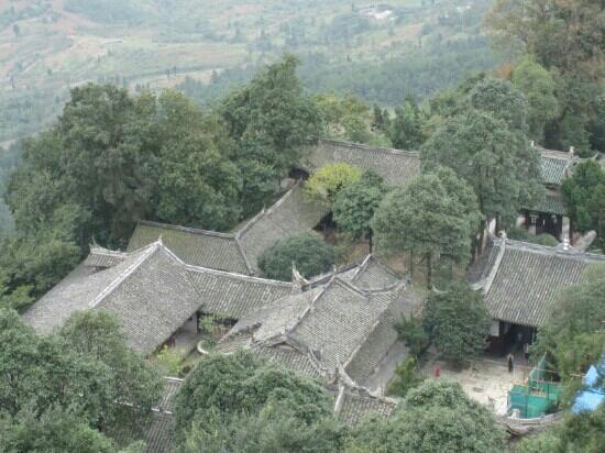 Mianzhu, China: 云湖国家森林公园里的度假别墅