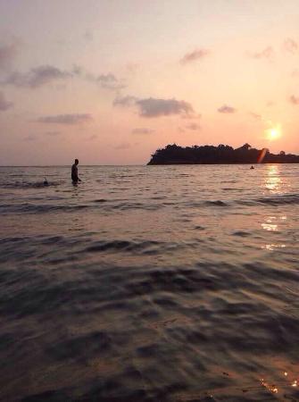 Sea View Resort & Spa Koh Chang: 夕阳