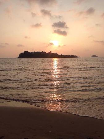 Sea View Resort & Spa Koh Chang: 落日