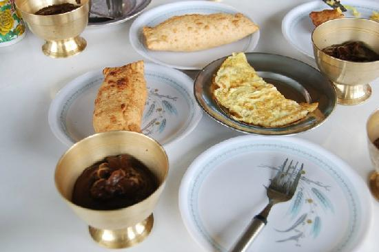 Hotel Yak & Yeti: 雪人酒店的早餐。