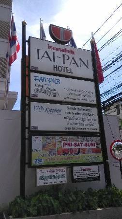 Tai-Pan Hotel : 酒店牌子
