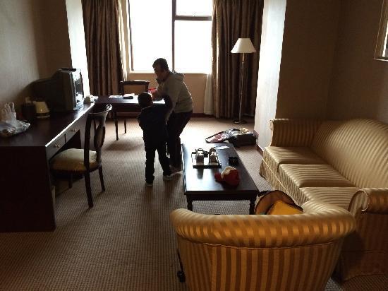 Mercure Teda Hotel : 客厅
