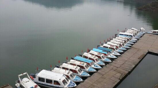 Shangyou County, China: 静谧陡水湖!