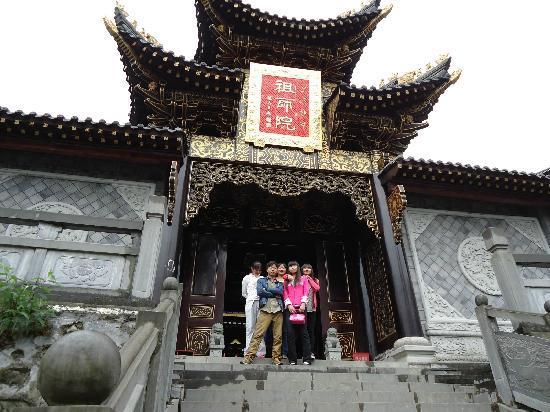 Xichang Lingshan Temple : 灵山寺的那个牌匾