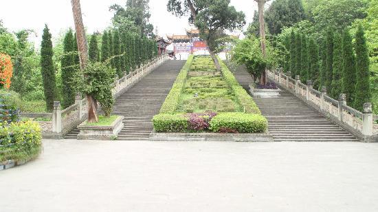 Guangde Mountain: 长梯通天