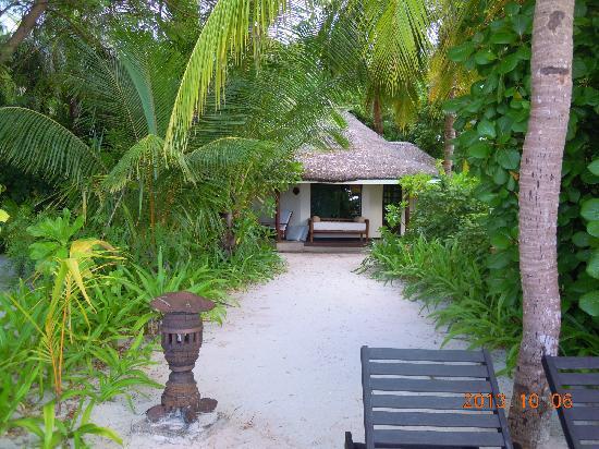 Kihaa Maldives: 沙屋远观