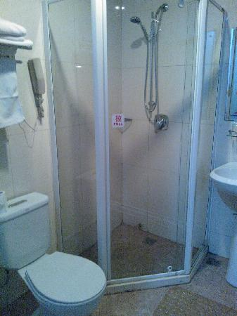 Qiaoyuan Hotel: 客房内的卫生间