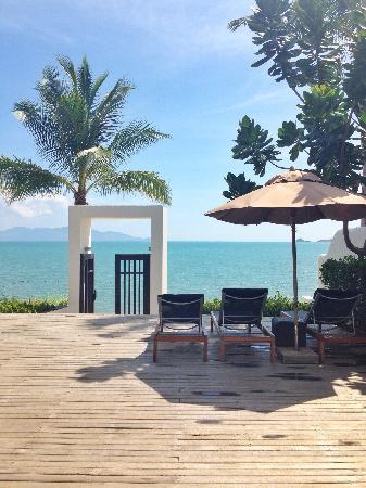 Anantara Bophut Koh Samui Resort : vacation club villa to the beach