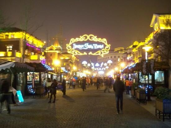 Italian Style Street: 夜色下的意大利风情街
