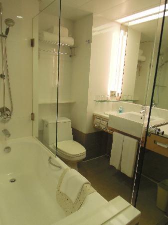 Novotel Century Hong Kong : 浴室(世纪香港酒店,湾仔)