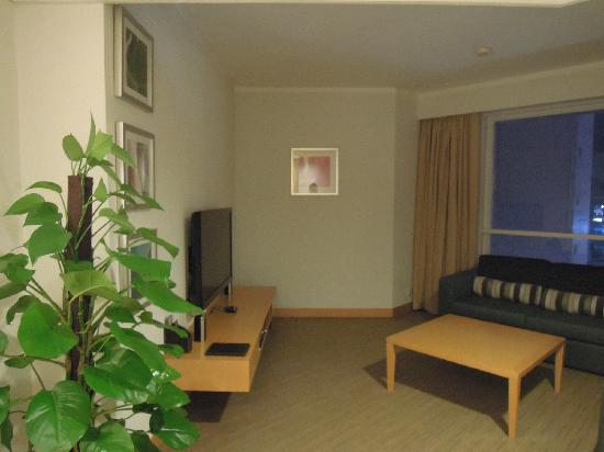 Novotel Century Hong Kong : 客厅(世纪香港酒店,湾仔)