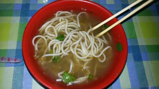 Nantianmen Hotel: 十元一碗实在难以下咽   虽然很饿也就吃了两口就放弃了