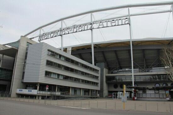Mercedes Benz Arena: Benz arena
