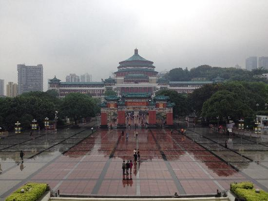 People's Assembly Hall: 广场