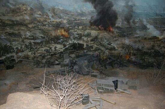 Korean War Memorial: 战争布景