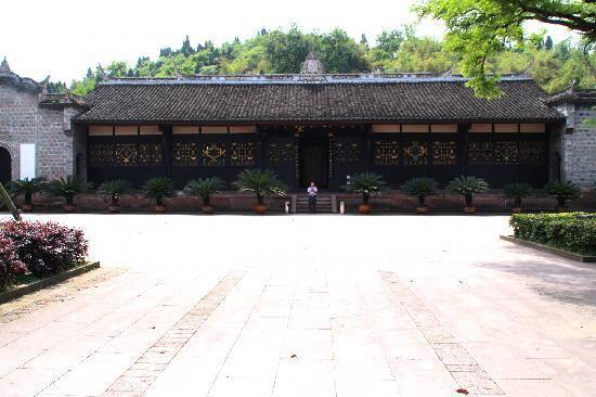 Shuangjiang Ancient Town: 杨尚昆老家