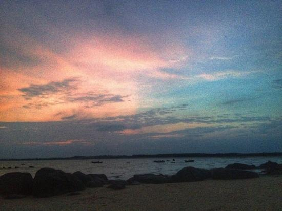 Wuchuan, China: 海滩