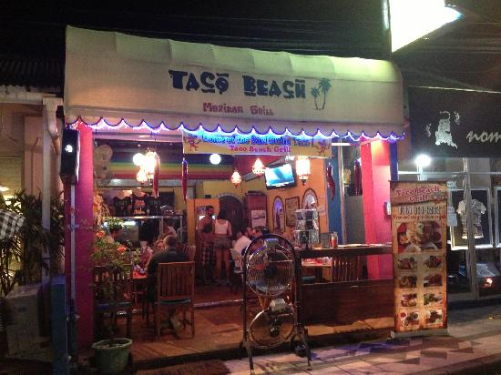 Taco Beach Grill: Realy great place...