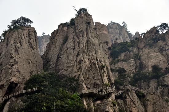 Xihai Great Canyon : 谷底向上的风景