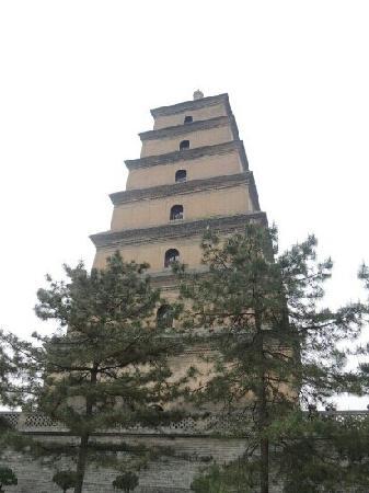 大慈恩寺(大雁塔), 大雁塔内部にある仏舎利(レ... 大雁塔内部にある仏舎利(レプリカかも)