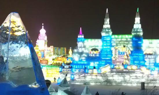 Parque de Atracciones de Hielo y Nieve de Harbin: 全景