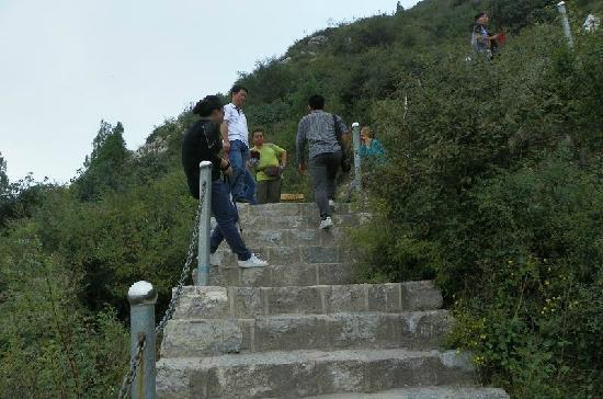 Juewei Mountain: 崛围山台阶