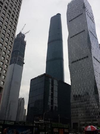Zhujiang New Town : 高楼