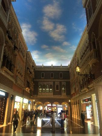 The Grand Canal Shoppes: 购物中心内部