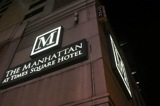The Manhattan at Times Square Hotel: waiguan