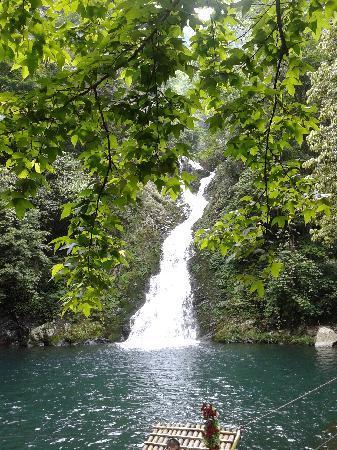 Jinggangshan Longtan Waterfall: 井冈山龙潭瀑布