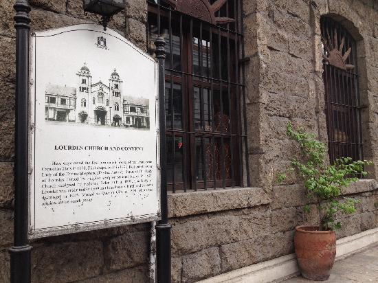 Intramuros: 老建筑