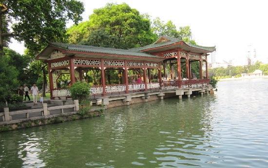 Xihu Park of Fuzhou: 西湖