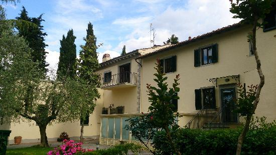 Villa I Barronci : 酒店主楼