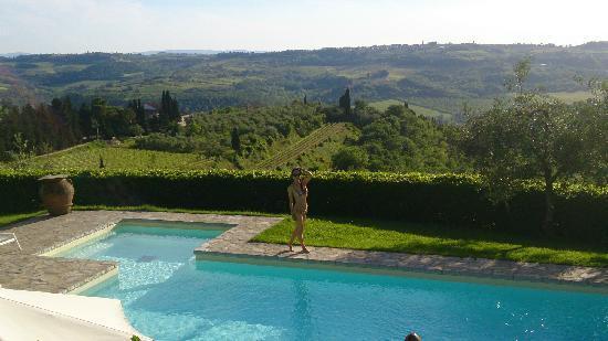 Villa I Barronci : 泳池