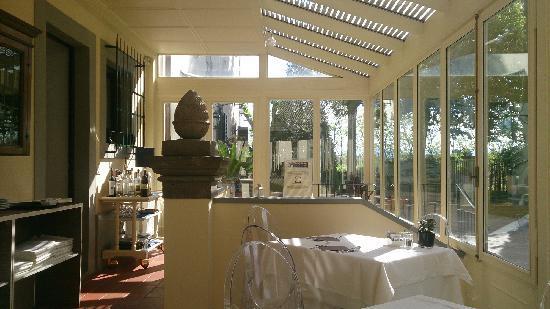 Villa I Barronci : 餐厅