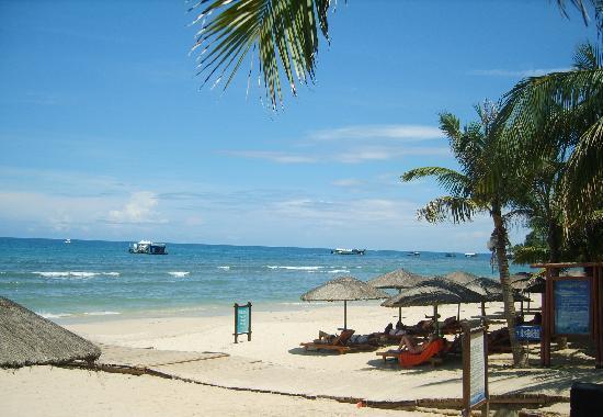Dadonghai Beach : 海滩