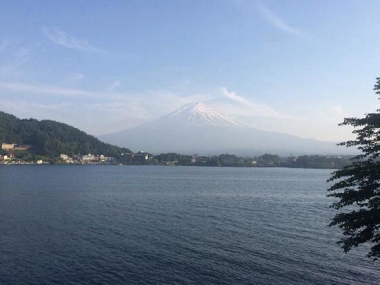 Fuji Lake Hotel: 窗外