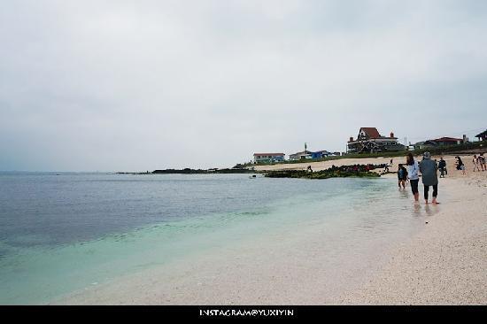 Udo : 牛岛的海滩